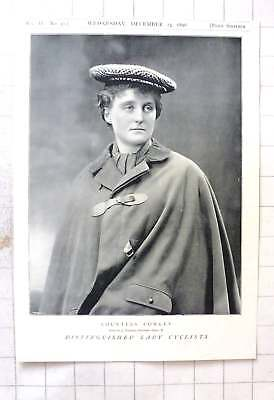 1897 Distinguished Lady Cyclist, Countess Cowley
