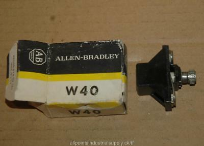 Allen Bradley W40 W-40 Heater Element Overload Relay - NOS