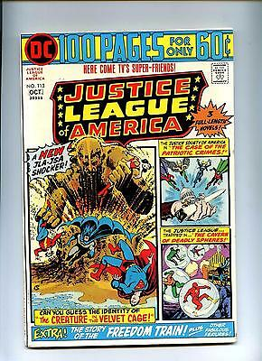 Justice League of America #113 - DC 1974 - 100 Pgs - VFN-