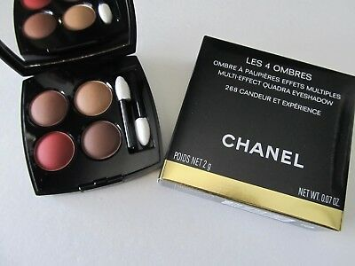 Chanel Les 4 Ombres Quadra Eyeshadow  268 Candeur Et Experience