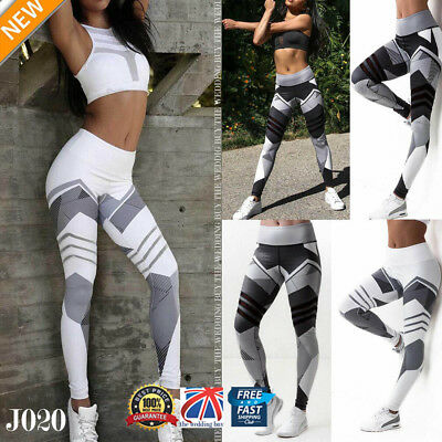 Women Yoga Workout Gym Leggings Fitness Sports Trouser Tight Athletic Pants J020
