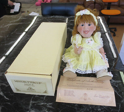 "Lee Middleton Missy Buttercup 15"" Baby Girl Doll in Yellow Dress"