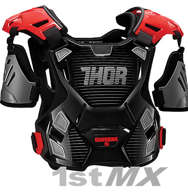 Thor Guardian Motocross Off Road Chest Protector Armour Red Youth Small Medium