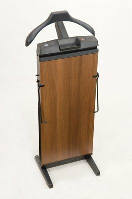 CORBY 7700 Trouser Press. 15, 30 & 45 Minute Timer. Walnut Wood Effect Finish. /