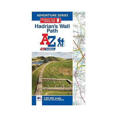 Hadrian's Wall Path Adventure Atlas by .