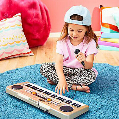 49 Keys Digital Electronic Keyboard With Microphone USB Piano Organ Music Toy