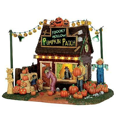 Lemax Spooky Town Collection Halloween Village Accessory Hollow Pumpkin...