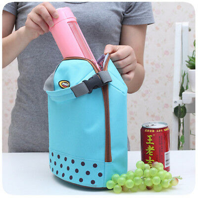 Portable Insulated Thermal Cooler Lunch Bag Carry Tote Picnic Case Storage Box