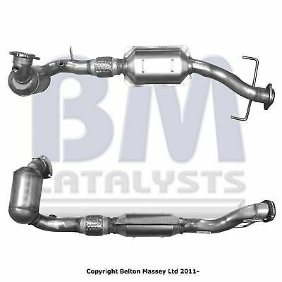 Bm90818H Type Approved Catalytic Converter / Cat  For Saab 9-5