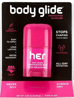 BodyGlide for Her Women's Athletic Anti-Chafe/Blister Balm 0.80oz (22.6g) 0.8oz