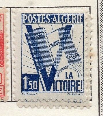 Algeria 1943 Early Issue Fine Mint Hinged 1.50F. 170600