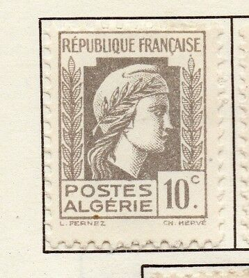 Algeria 1944 Early Issue Fine Mint Hinged 10c. 170601