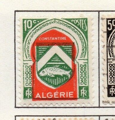 Algeria 1947-55 Early Issue Fine Mint Hinged 10c. 170706