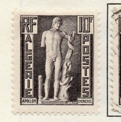 Algeria 1952 Early Issue Fine Mint Hinged 10F. 170734