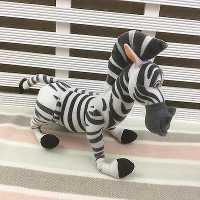 "Madagascar Marty the Zebra Soft Toy 10"" (2004) Play by Play"