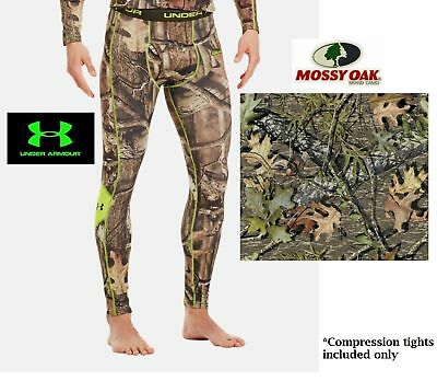 cc1d2032f92708 UNDER ARMOUR Men's EVO SCENT CONTROL HUNTING BASE LAYER CAMO PANT Small/3XL  NWT