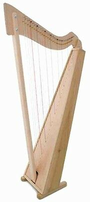 "Musicmakers Smartwood 29 string floor harp. 49"" high - superb full rich sound."