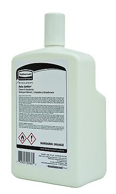 1 Rubbermaid Commercial Auto Janitor Cleaner & Deodorizer Refill Mandarin Orange