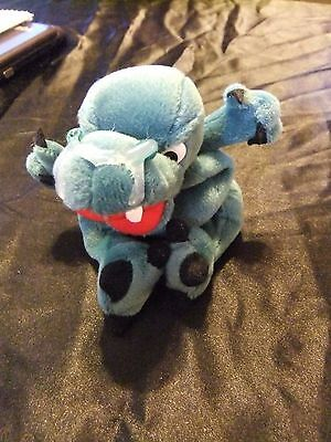 Infamous Meanies Boris The Mucousaurus Plush Toy - NWT!!
