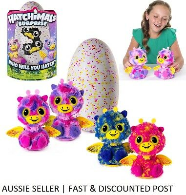 Hatchimals SURPRISE - GIRAVEN *TWINS* - LATEST RELEASE OCT 2017- IN HAND NOW