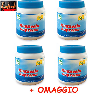 MAGNESIO SUPREMO 300 gr NATURAL POINT - 4 X 300 GR + OMAGGIO