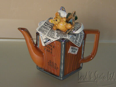 Cardew Miniature Packing Crate Form Teapot-England