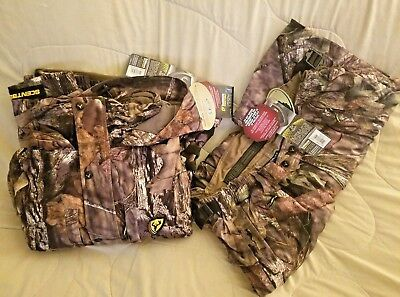 ScentBlocker Outfitter Jacket & Pant Set Trinity Mossy Oak Country- size Large