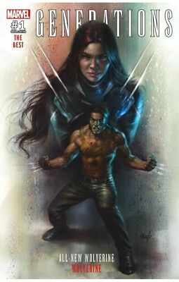 Generations Wolverine & All New 1 Lucio Parrillo Krs X-23 Color Variant Nm