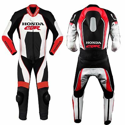 Honda Cbr Motorbike Motorcycle Racing Leather Suit One Or Two Piece