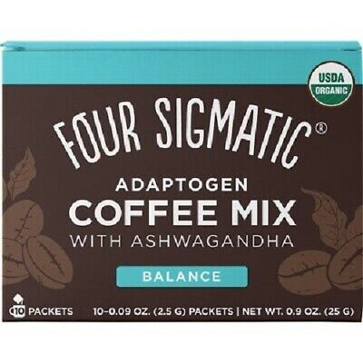 Four Sigmatic Mushroom Coffee Mix - 10 Packets (2 Flavours)