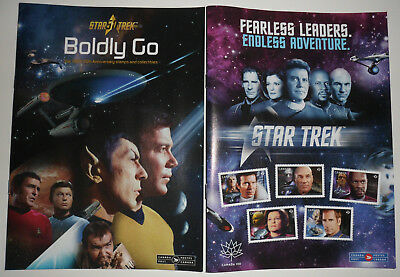 Boldly Go / Fearless Leaders / Two Details Magazines / Star Trek Collectibles