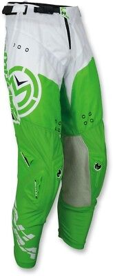 Moose Racing S18 Sahara Pants Size 30 Green/White 30 2018 Offroad Pant 2901-6585