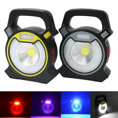 Rechargeable DC5V 30W LED COB Spot Flood Light Portable Outdoor Lecture Lamp USB