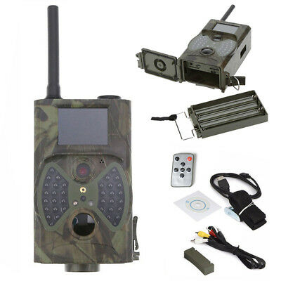 HC-300M HD Wildlife Hunting Trail Night Camera 12MP GPRS GSM SMS Infrared Scout