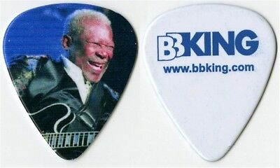 BB King authentic 2014 concert tour issued custom stage collectible Guitar Pick
