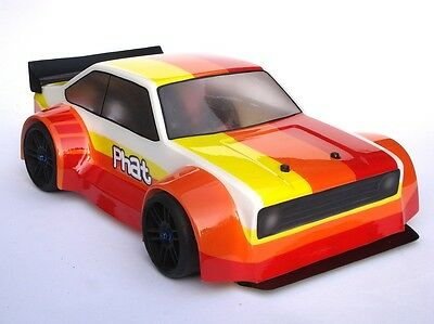 PHAT BODIES 'Ford Escort Mk2' body Losi Mini 8ight, Carisma GTB, LC Racing EMB-1