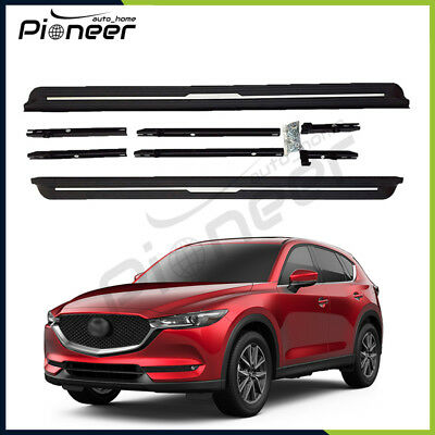 Fit All New Mazda CX-5 CX5 2017 2018 Door Side Step Nerf Bar Running Boards