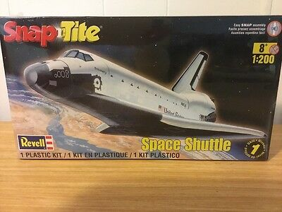 Revell Nasa Space Shuttle 1:200 Scale Snap Together Model Kit Free Shipping