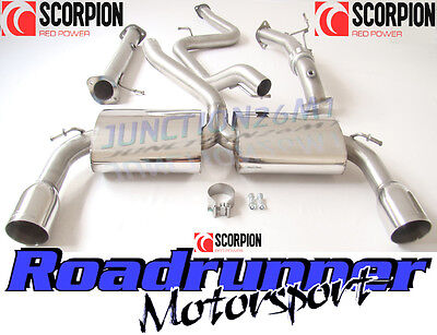 Focus St Exhaust St 225 Scorpion Turbo Back Downpipe De Cat & Cat Back Non Res
