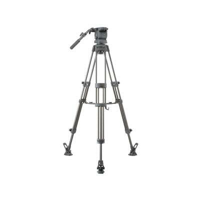 Libec RS-250DM Tripod System Includes Head, Mid-Level Spreader, Rubber Feet