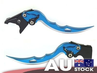 Ninja Blade Brake Clutch Levers Blue fit Honda CBR250R 11 12 13 CBR300R 14 15