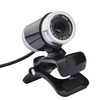 Webcam Camera Wide Angle with Mic USB and Play Web Cam for Computer A860#1