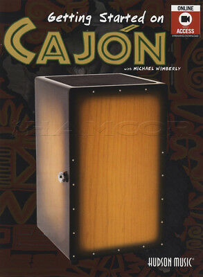 Getting Started on Cajon Music Book with Video Learn How to Play Beginner Method