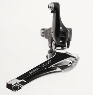 SHIMANO 105 FD-5800 Front Derailleur Double 2 x 11 Speed 31.8mm Clamp-On NEW