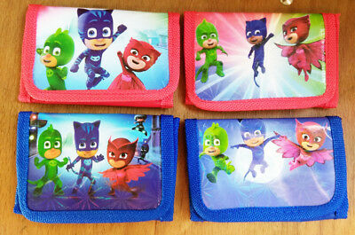 Kids PJ Masks Coin Money Pouch Bags Purses Wallets Birthday Xmas Gifts