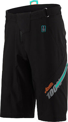 100% Airmatic Fast Times Shorts Black