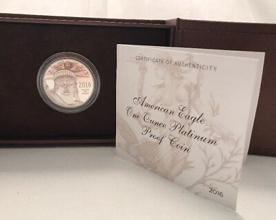 2016 American Eagle One Ounce Platinum Proof Coin