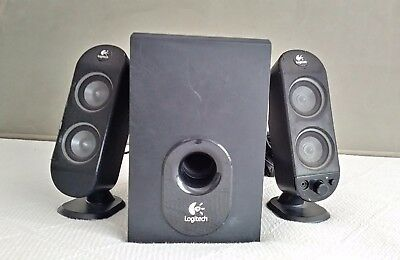 Logitech X-230 2.1 2-Piece Dual Drive Computer Speakers with ported subwoofer