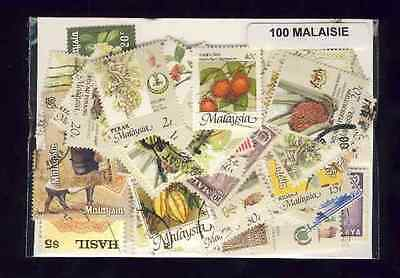 Malaisie - Malaysia 100 timbres différents