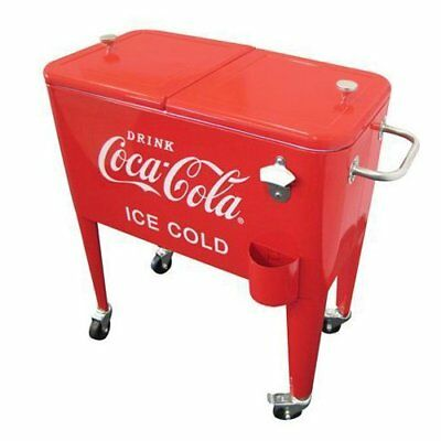 Leigh Country Leigh Country CP 98108 Coca-Cola 60-qt Retro Metal Cooler CP 98108